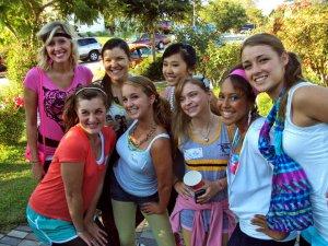 Choir Camp Dinner Freshman Year - August 2010