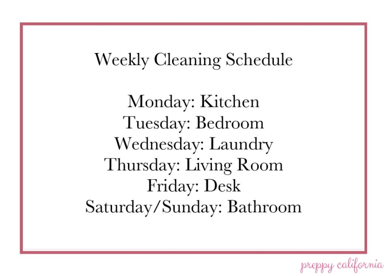 Weekly Cleaning Schedule-page-001-2